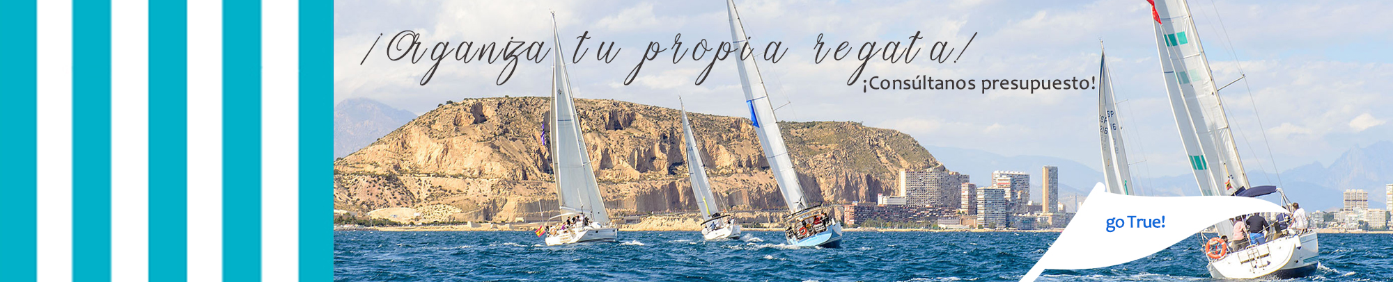 true-blue.es Organiza tu propia regata